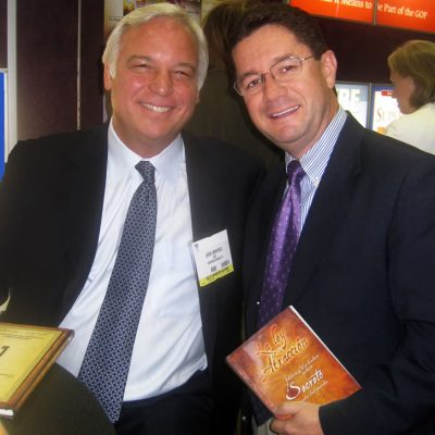 Camilo Cruz y Jack Canfield en Los Angeles